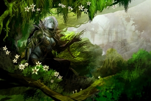 Guild wars 2 concept art by Kekai Kotaki