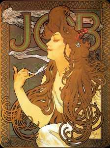 """Job"" by Alphonse Mucha"