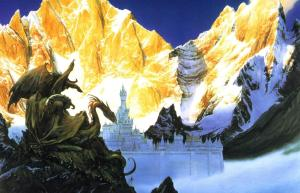 """Morgoth's forces before Gondolin"" by John Howe"