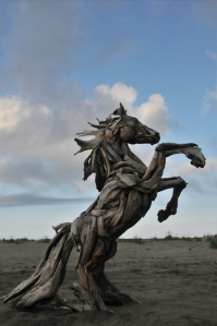 Horse sculpture by Jeffro Uitto