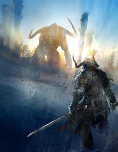 """Guild Wars 2 concept art by Richard Anderson """"flaptraps"""""""