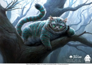 """Cheshire cat"" by Michael Kutsche"