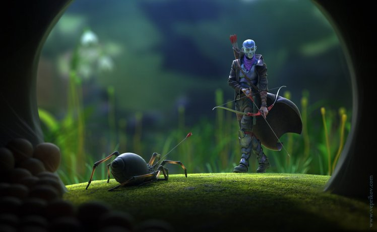"""""""Spider hunter"""" by Nikita Veprikov"""