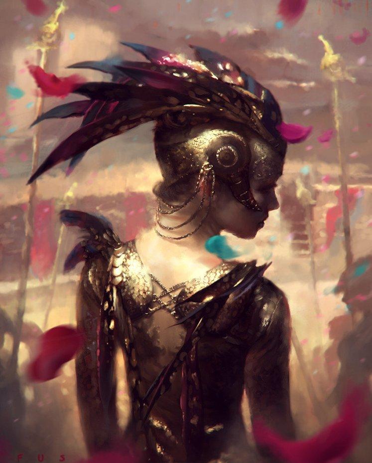 """""""The Queen's return"""" by Wojtek Fus"""