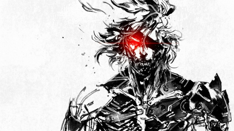 Metal Gear art by Yoji Shinkawa