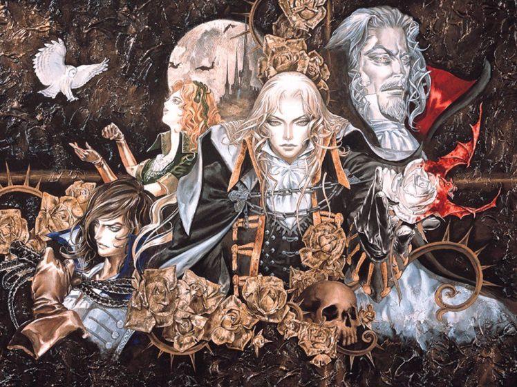 Castlevania art by Ayami Kojima