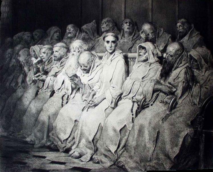 """""""The Neophyte"""" by Gustav Doré"""