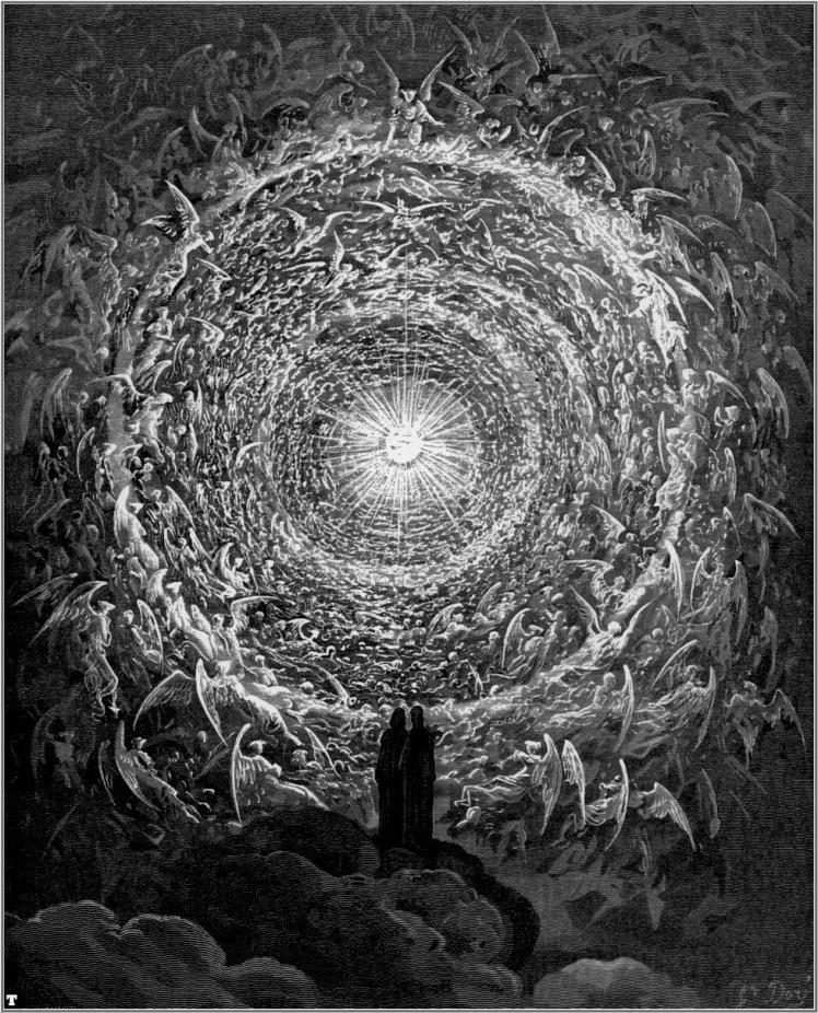 """""""The divine comedy"""" by Gustav Doré"""
