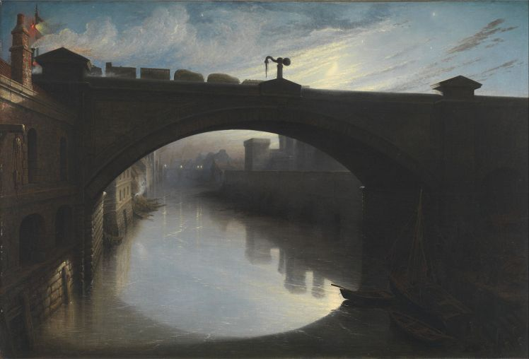 """Railway Bridge over the River Cart, Paisley"" by Waller Hugh Paton"
