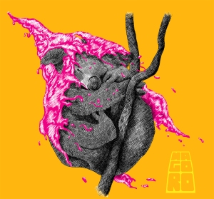 Inked koala by Mario Alberto Gonzalez Robert Magoro Graphics