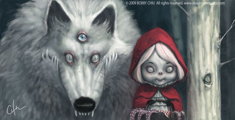 """Red riding hood"" by Bobby Chiu"