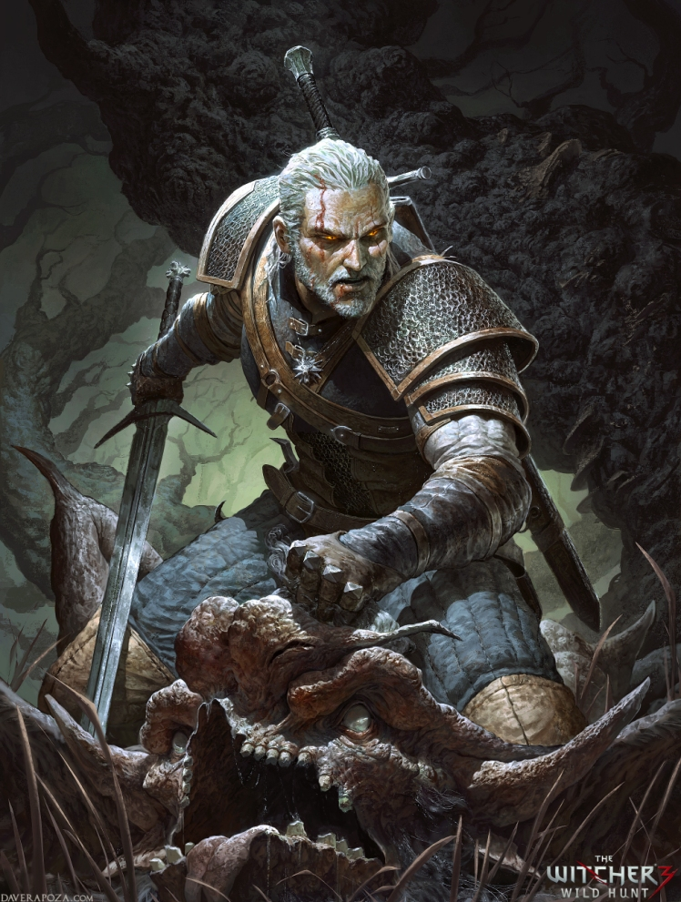 """""""The Witcher"""" by Dave Rapoza"""