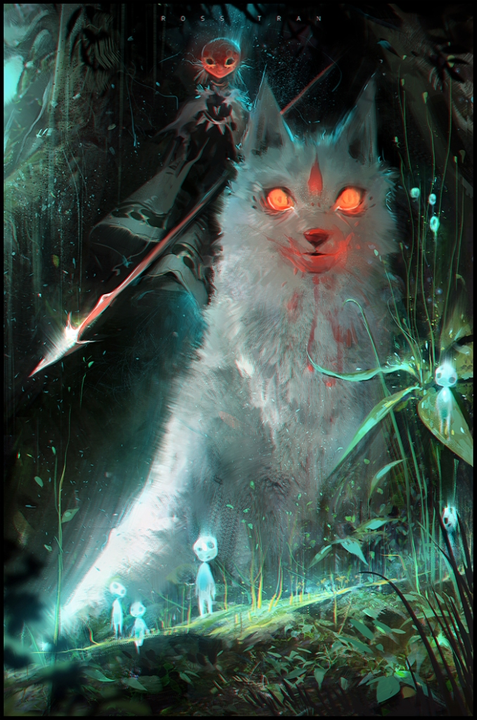 """Princess Mononoke"" by Ross Tran"