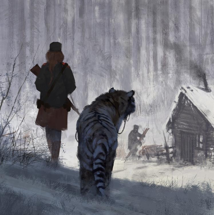 Sketch by Jakub Rozalski