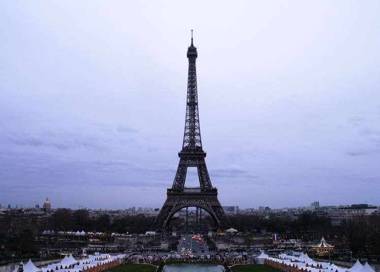 Eiffel tower photo by Mario Alberto González Robert Magoro Graphics