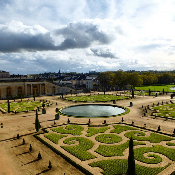 """Gardens of the palace of Versailles, France"" by Mario Alberto González Robert"