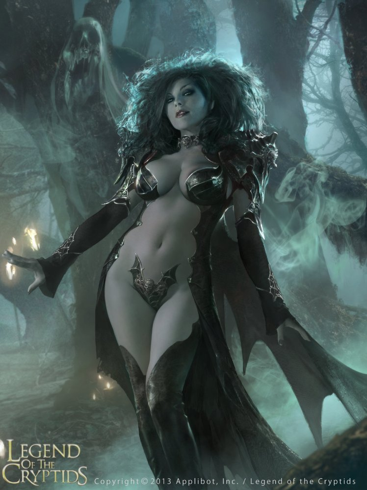 """Dark queen Guinivere"" by Brad Rigney"