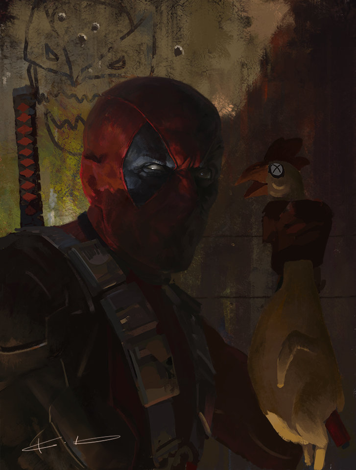 """""""Deadpool: Ready to rool?"""" by KD Stanton"""