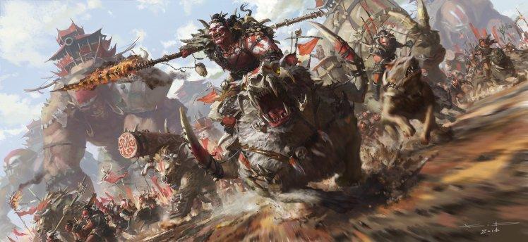 """Rise of the Horde Sarnuk bloodsoul"" by KD Stanton"