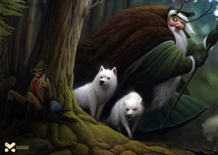 """Hunter"" by Max Kostenko"