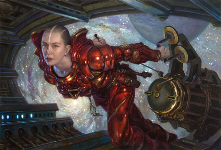 """Mechanic"" by Donato Giancola"