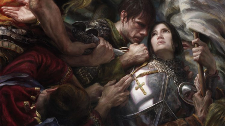 """Joan of Arc"" by Donato Giancola"