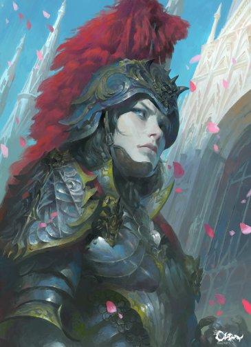 """Knight"" by Wei Feng"