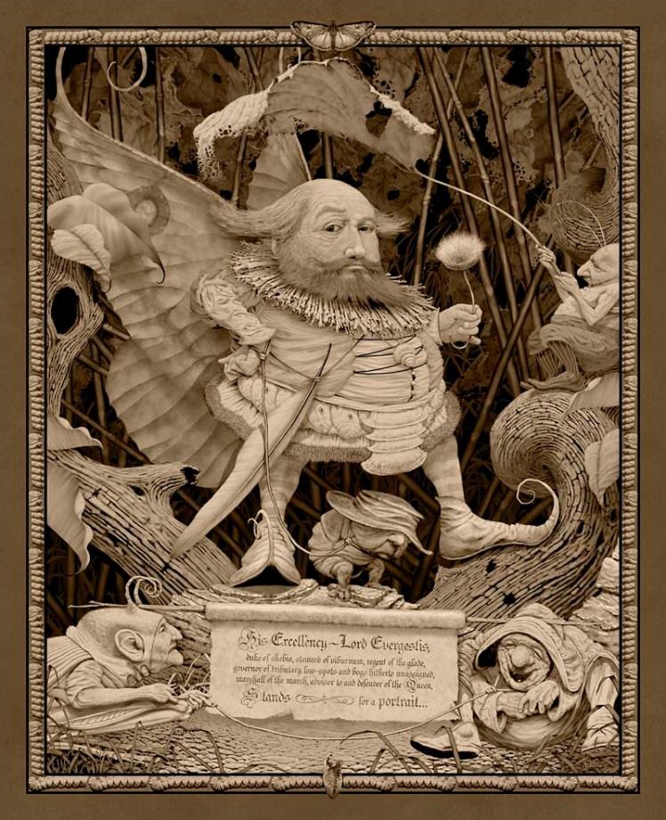 """""""Lord Evergestis"""" by Ed Binkley"""